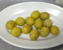 【テイクアウト】小皿前菜 スペイン産 アンチョビ入りグリーンオリーブ