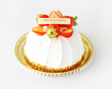 (Please order with a meal) 12cm Strawberry Short Cake for an Anniversary or Special Event
