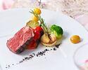 【HPベストレートプラン】乾杯酒&ホールケーキ付 牛フィレ肉 オマール海老 全5品+飲み放題