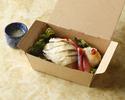 【テイクアウト】蒸しヒナ鶏の冷菜 シンガポールジンジャーパウダー入り葱ソース