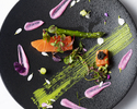 【Menu SAKURA Diner】全10皿フォアグラ・オマール海老使用+全10皿+乾杯ドリンク1杯付き+特製ケーキ付(個室確約)