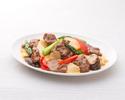 テイクアウト36.牛肉と野菜のオイスターソース炒め