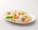 テイクアウト17.イカと野菜の塩味炒め
