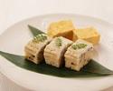 【テイクアウト】 弁慶特製 穴子寿司3貫+玉子