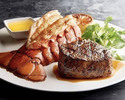 [3 /8-3/21] [White Day Plan] Comes with Rose sparkling wine. Main course is Filletmignon & Lobster tail! Choice of appetizer, sidedish , dessert