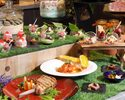 Lady's Lunch Semi-buffet with plenty of desserts - Onsen included-