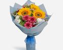 3pc Sunflower & Chrysanthemum