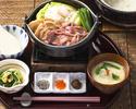 【食後に選べる和茶&わらび餅付き】ちょっぴり贅沢、黒毛和牛のすき焼き御膳