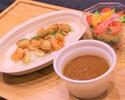 シーフードカレー(サラダ付)