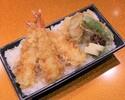 Tenju (shrimp / vegetables / green pepper)