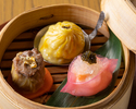 【Lunch】 Three kinds of Premium Dim sum with Dim sum order buffet