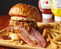 黒毛和牛100%トリプルWバーガー WWW Burger
