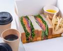 【テイクアウト限定】シェフの気まぐれサンドイッチ BOX
