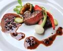 【4/1~】フルコースランチ|前菜+スープ+魚料理+肉料理+デザートプレート
