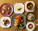 【Dinner Online Special】Premium dinner 8 courses with 2 glass of drinks!