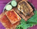 [外卖]辛辣的豆temp和豆eh,用辛辣的酱汁捣碎