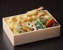 【TAKE OUT】海老と野菜の天重