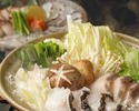 《お食事に》名物かつをの塩たたきや豚肩ロースの藁焼き、玉九絵と土佐鰤の極みかつを出汁鍋等9品 4400円(税込)
