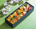 日本料理 雲海 春のお花見 蟹いくら穴子ちらし弁当¥3,000(税込)           【お持ち帰り専用・3日前まで要予約】