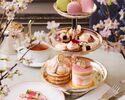 """【期間限定】Afternoon Tea """"SAKURA  桜""""+ミニパルフェ"""