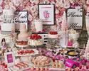 『3月ストロベリーホリック~Barbie in Paris~ 』いちご飴、桜ムース、桜タルトが新登場!(平日/子供)