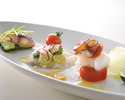 【Lunch B】スープ・前菜・パスタ・お魚・お肉・ドルチェの本格コース