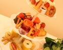 【テイクアウト】苺とショコラの「おうちでアフタヌーンティー」(1名様分)
