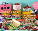 April 1~【Discount for Students・Health Professionals】Dessert Buffet - '80s Retro Strawberry