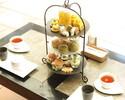 お茶 Afternoon tea アルコールフリーフロー付 2営業日前までの予約制