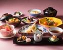 【友禅】名物の治部椀や天ぷら・酢物など 全7品+【1ドリンク付き!】