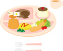 Lunch kids menu ※Fish (course for children (2-5 years old))
