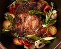 厳選食材を楽しむディナーセット全5品+フリーフロー90分