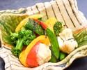 【TAKEOUT】彩り野菜の塩昆布バター焼き