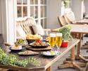 ビアガーデンB 90分小皿料理全15種類海老ギョプサル、フォンデュチキンも食べ放題