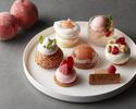 【Seasonal Cake Set】+乾杯シャンパン