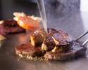 【コースに追加!】 フォアグラ(50g)と茄子のソテー バルサミコ風味の赤ワインソース(数量限定)