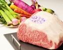 【さくら Cコース】「神戸牛」ロース肉の鉄板焼きコース