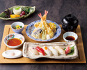 【平日限定】寿司・天麩羅御膳
