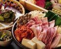 【数量限定】イベリコ豚のスタミナ豚キムチ鍋コース 2500円(全6品)