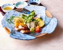 【4月のおすすめ】春の彩り野菜とつくば鶏の塩麹焼き