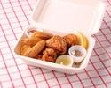 【テイクアウト】鶏の唐揚げとフライドポテトの盛り合わせ