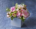【オプション】バースデーパッケージB  ケーキ + お花(卓上) + 乾杯の食前酒 + 記念写真