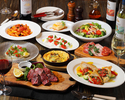 Grigio specialties W main course which can enjoy pleasing appetizers and meat fish 2 hours all you can drink