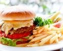 【テイクアウト】ローズホテル横浜ビーフハンバーガー