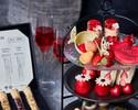 【Strawberryアフタヌーンティー】スイーツ等12種!紅茶6種おかわり自由