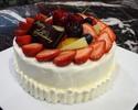 季節のフルーツデコレーションケーキ