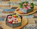 【テイクアウト】しあわせ絆牛のローストビーフ弁当&ハピネスバリエーションBOX(ローストビーフ重&スイーツ重)
