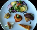 季節のお料理を少しずつお楽しみいただけるショートコース(5皿)