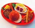 让我们做我的汉堡! [儿童烧烤套装] 850日元(不含入场费)
