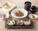 4/1-和牛、きんきの2種から選べる「十二颯御膳」
